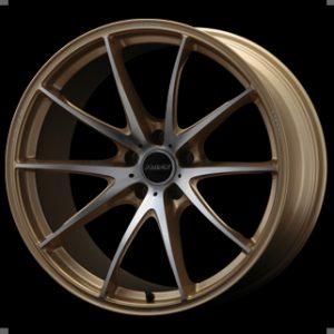 RAYS G25 Edge Gold