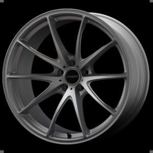 RAYS G25 Edge Titanium Silver