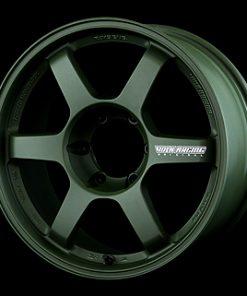 RAYS TE37 LARGE P.C.D. Progressive Model Matte Dark Green
