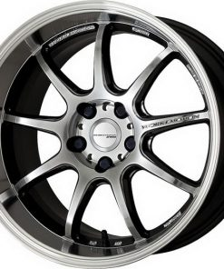 WORK EMOTION D9R GLIM SILVER DIAMOND CUT RIM