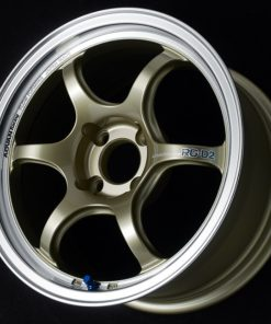 Yokohama ADVAN Racing RG-D2 ALFA-ROME ABARTH FIAT -  MACHINING and CHAMPAGNE GOLD