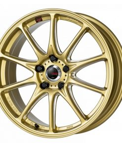 WORK EMOTION RS alpha -  FORCE GOLD MACHINING