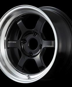 RAYS Volk Racing TE37V MC -  Black/Diamond Cut Rim