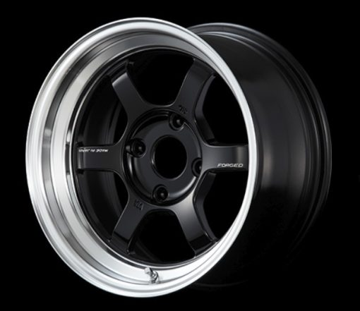RAYS Volk Racing TE37V MC -  Black/Diamond Cut Rim