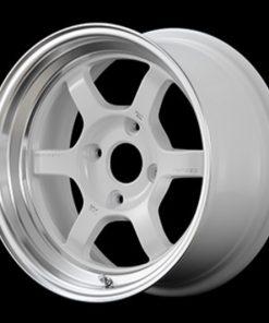 RAYS Volk Racing TE37V MC -  White/Diamond Cut Rim