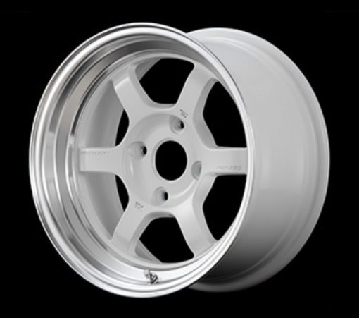 RAYS Volk Racing TE37V MC -  White/Diamond Cut Rim